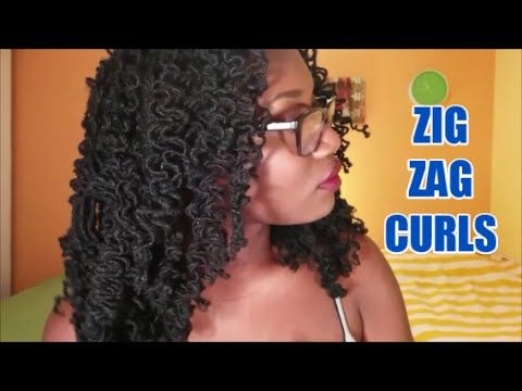 wash and go hair styles zig zag curls pipe cleaners locs grow on 7146