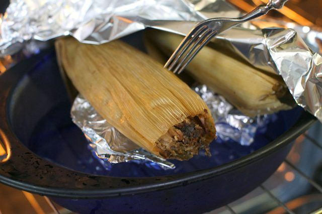 How To Steam A Tamale Without A Steamer Basket How To Cook Tamales How To Reheat Tamales Steaming Tamales