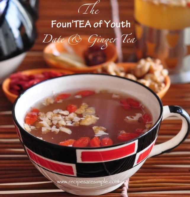 Foun'TEA OF YOUTH - Remain youthful with with delicious & appetizing tea....