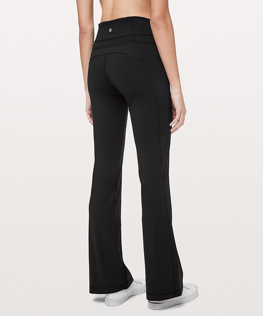 f9c99e4d2e Lululemon Groove Pant Flare 32 *Full-On Luxtreme Online Only   XMAS ...