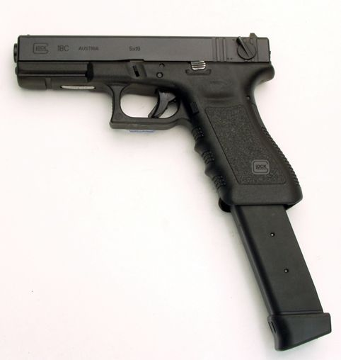 glock 40 extended clip