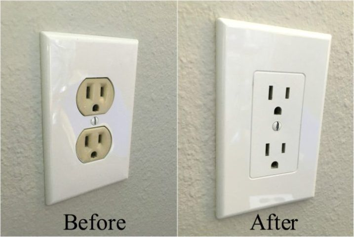 Easy Electrical Outlet Cover Tip to Fix Mismatched Electrical ...