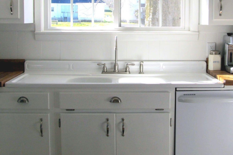 Kitchensinkwithdrainboard Farmhouse Sink Kitchen Vintage