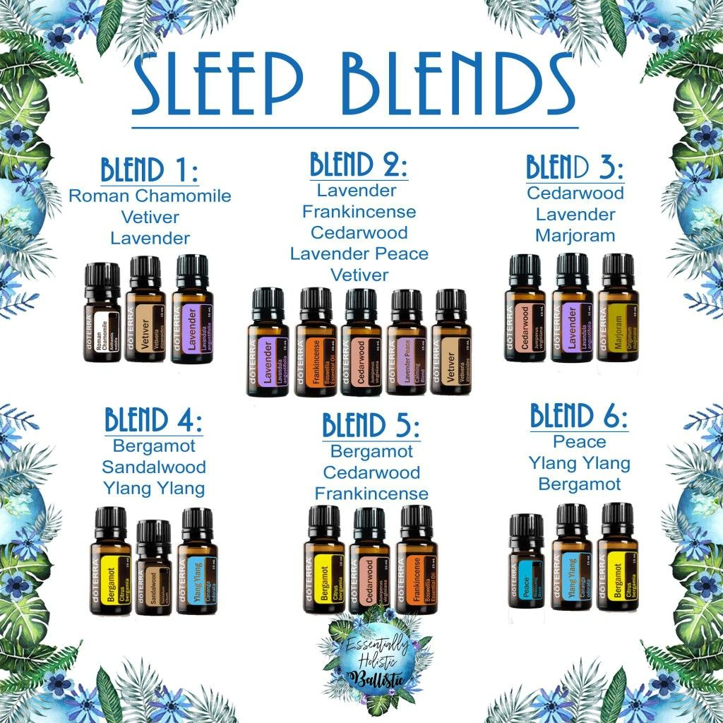 Sleep Blends Diffuser Or Roller Bottle Blends