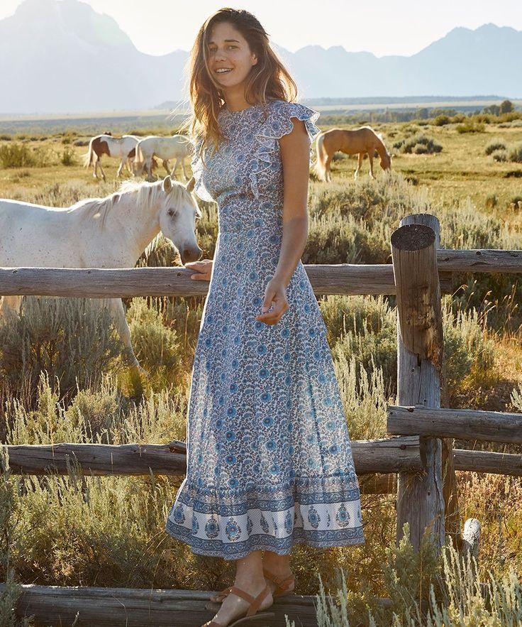 Photo of The Quinn Dress | Nilah Floral (Cotton)