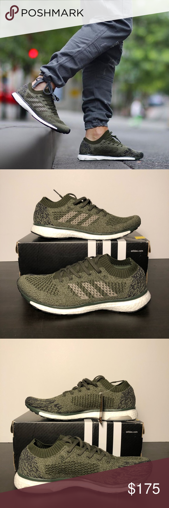 low priced b83ee 60e20 Adidas adizero prime LTD 'Olive' Brand New Adidas Adizero Prime LTD Olive  Green Perfect sneakers for the spring/summer Lightweight breathable prime  knit ...