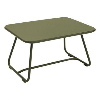 TABLE BASSE SIXTIES ROUILLE de FERMOB | # Fermob # | Pinterest | Comò