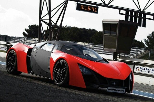 The Russian Super Car Marussia Sports Car Wallpaper Red Sports Car Super Cars
