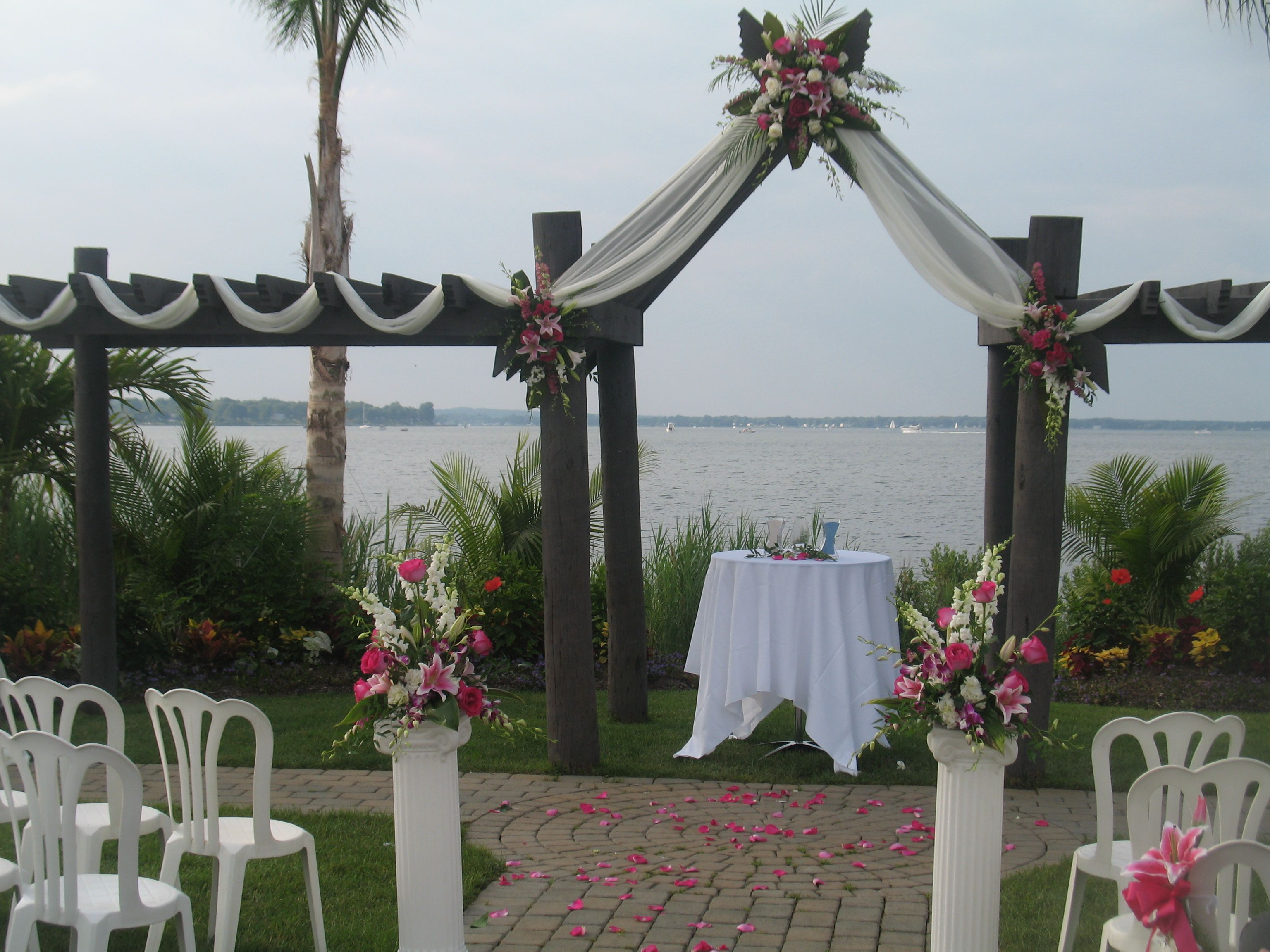 Weddings Herrington On The Bay Flowers By Creative Floral