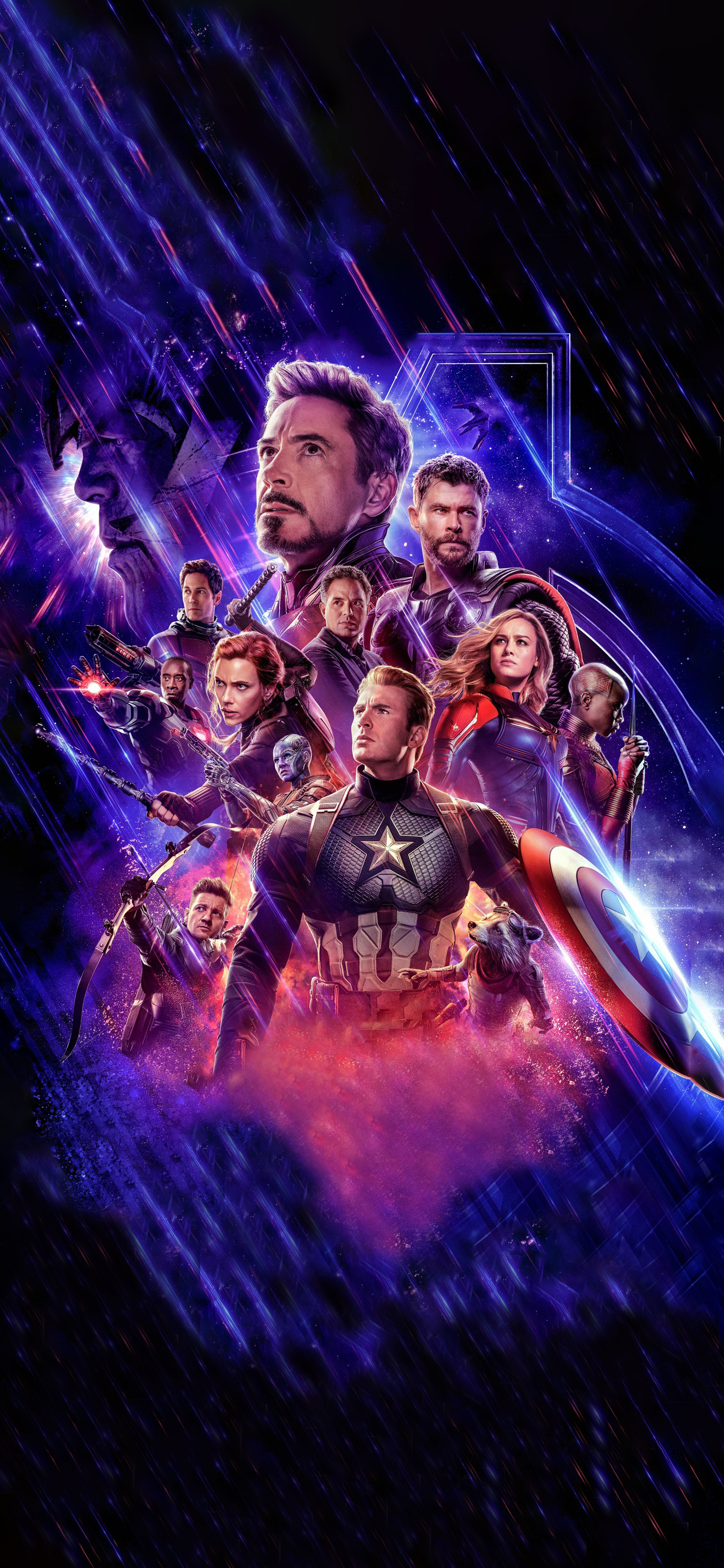 Avengers Endgame Textless Phone Wallpaper Marvel Movie