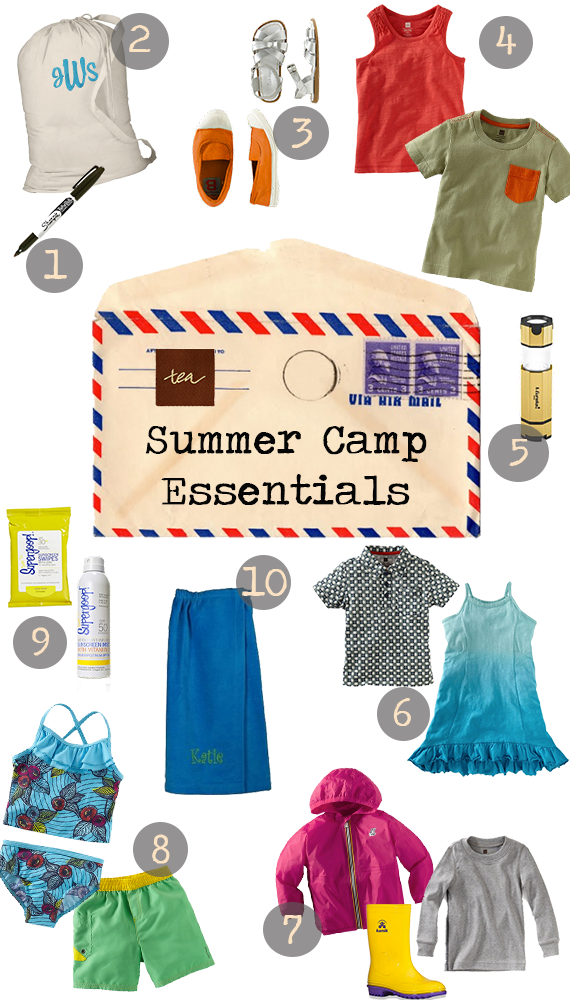 Don't forget these summer camp essentials!   Camping ...
