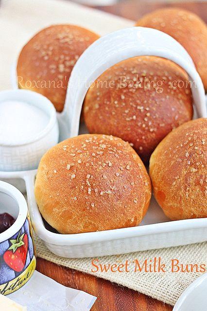 evaporated milk sweet buns by RoxanaGreenGirl   Roxana's Home Baking, via Flickr