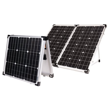 Go Power By Valterra Gp Psk 120 Solar Kit 120w Portable Walmart Com Solar Panels Best Solar Panels Solar Kit