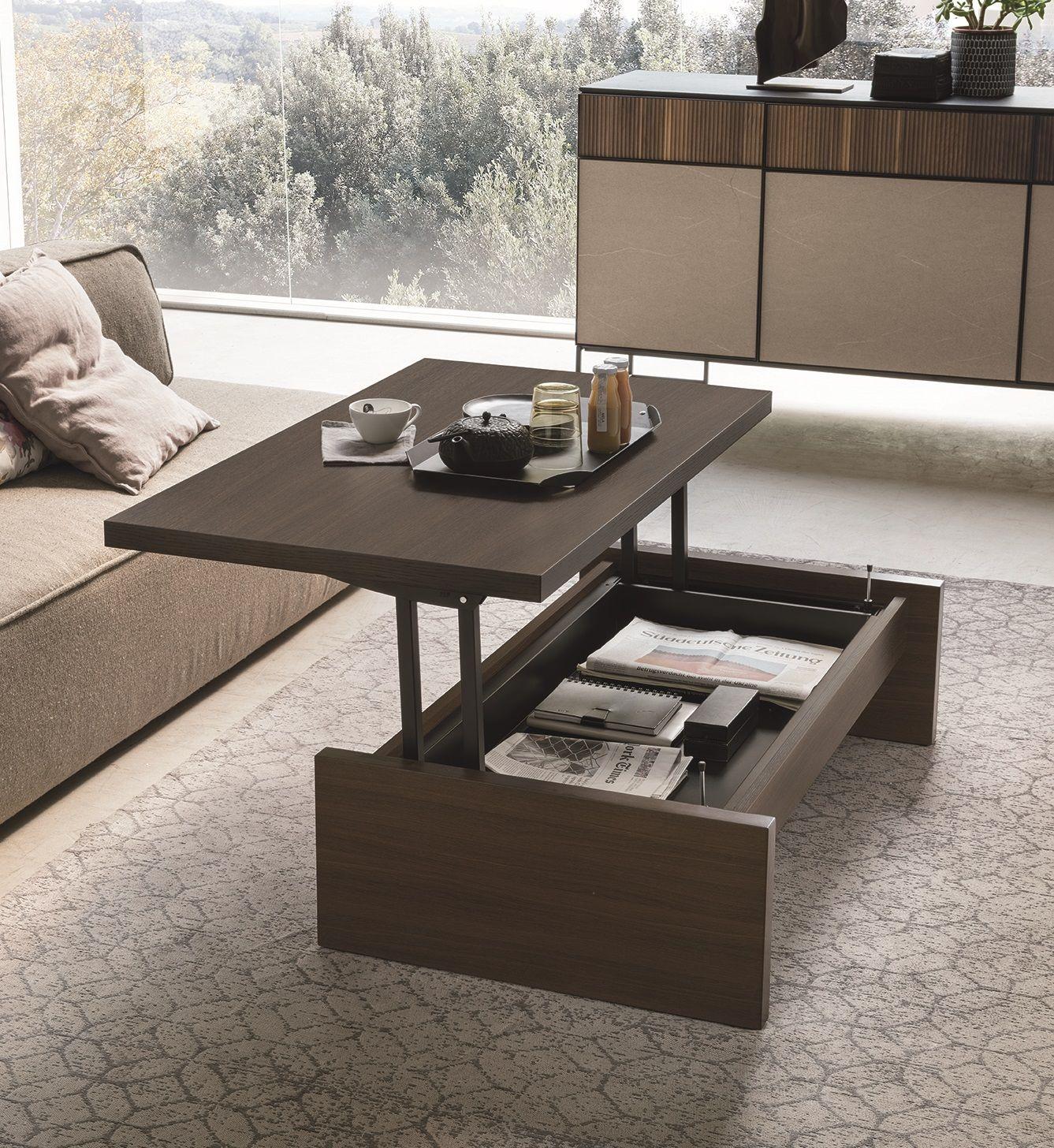 Tavolo Alzabile Salotto Pranzo.Tavolino Alzabile Single Tavolini Tavolo Da Pranzo Moderno Idee Arredamento Soggiorno