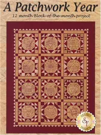 A Patchwork Year Pattern Create A Patchwork And Embroidery Quilt