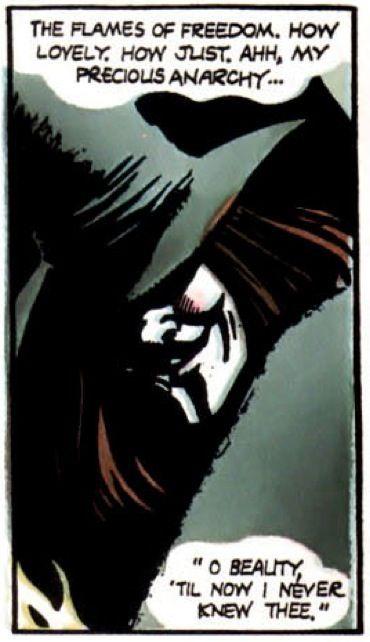 The Flames Of Freedom V For Vendetta V For Vendetta Comic V For Vendetta Vendetta