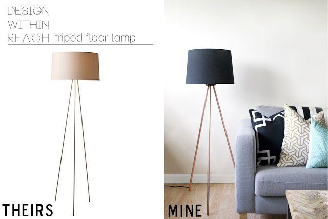 Make Your Own Floor Lamp Knocktoberfest Tripod Floor Lamp
