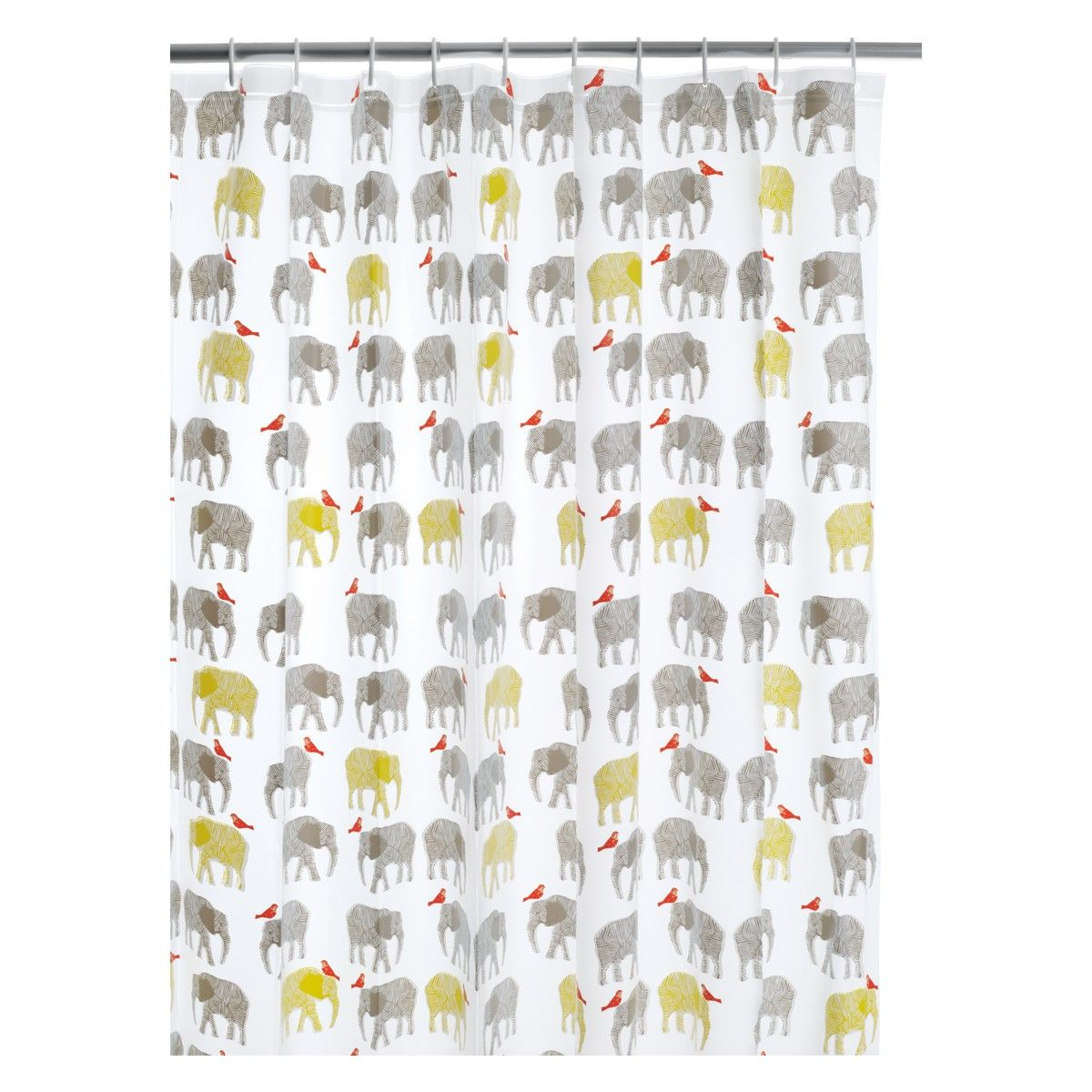 Topsy Multi Coloured Patterned Shower Curtain Buy Now At Habitat