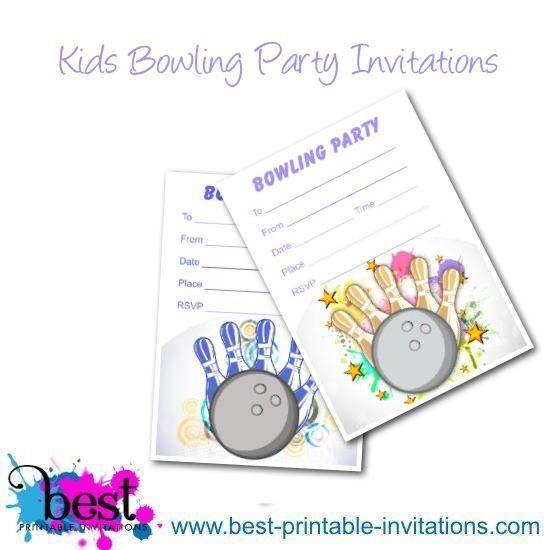 Free printable bowling invitations kids party invites choose a free printable bowling invitations kids party invites choose a fun bowling birthday invitation from stopboris Choice Image