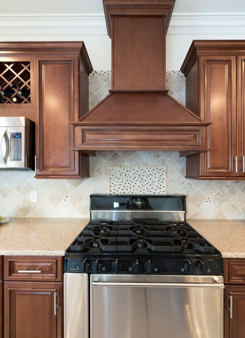 Signature chocolate preassembled kitchen cabinets kitchen