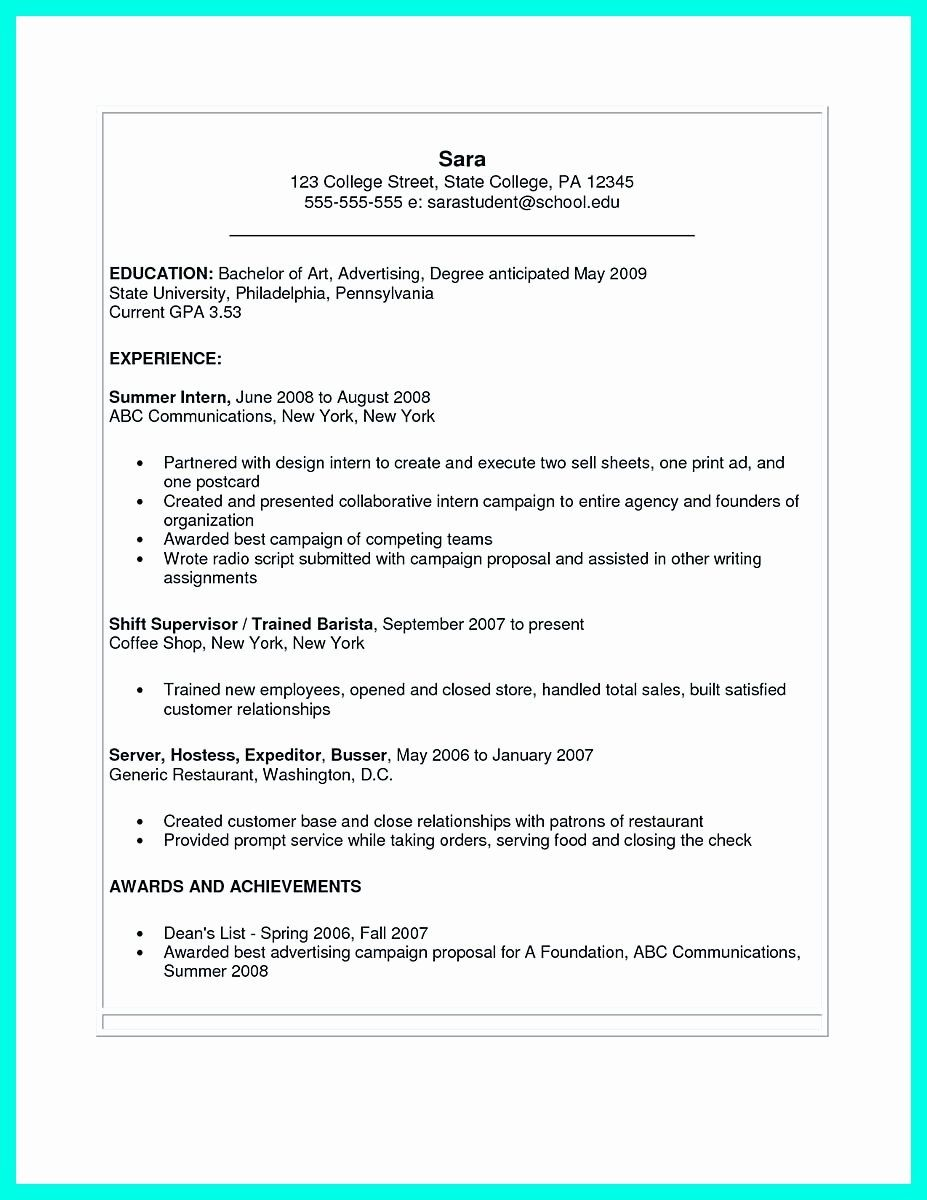 25 Ms Word 2007 Resume Templates in 2020 Student resume