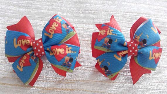 Hair Bow Boutique with Love Is Hair Bow School от JuliaBabyShop