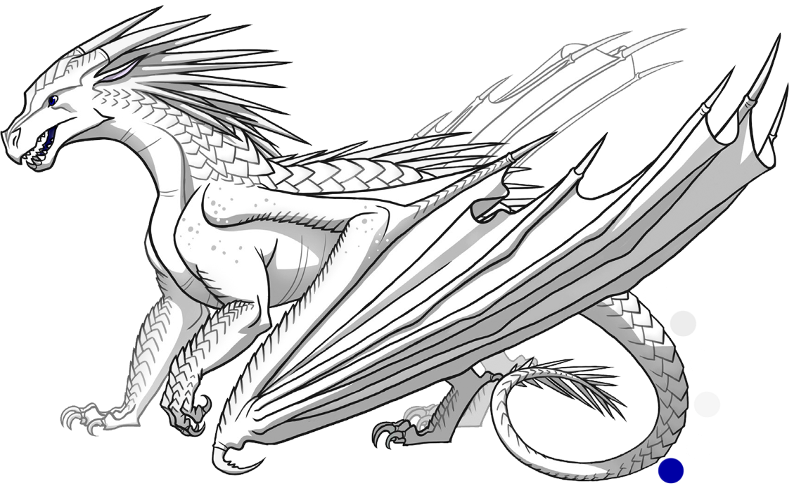 Diamond Is A Female Icewing With An Unknown Description Wings Of Fire Wings Of Fire Dragons Fire Dragon
