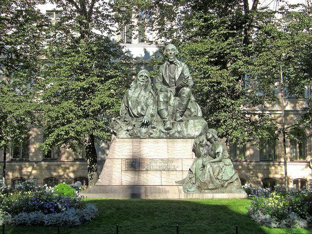 Kalevala monument