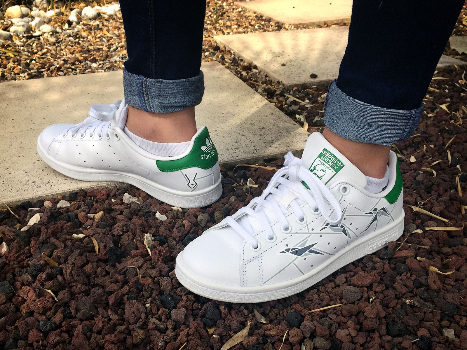 Custom #StanSmith by LBP