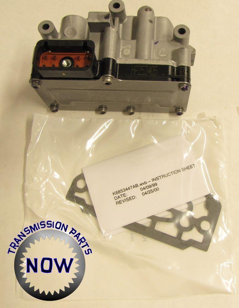 Dodge Chrysler Voyager Caravan A604 40/41TE New OEM Solenoid Block D92420B      #Mopar