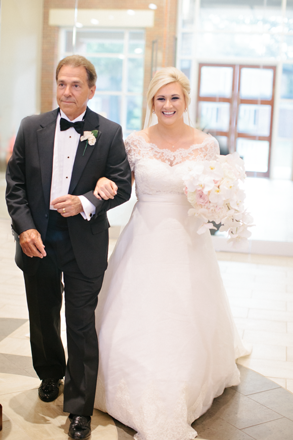 Watch the most amazing wedding video featuring Nick Saban ...