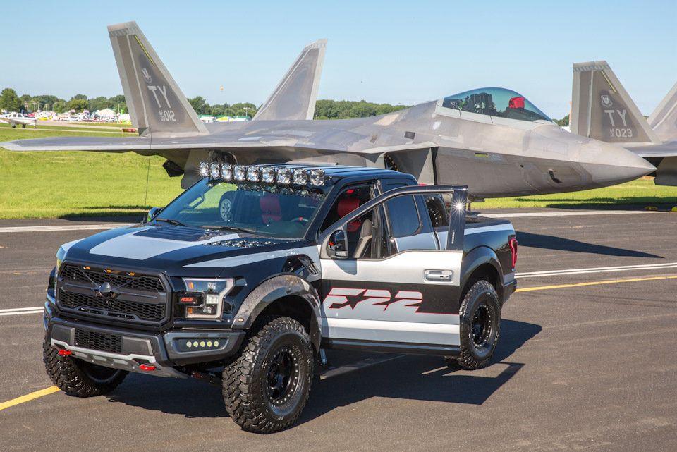 Сухопутный истребитель Ford посвятил F150 Raptor