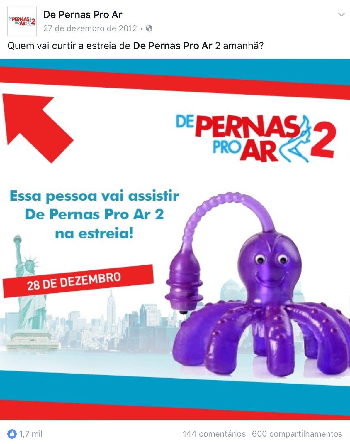Pin Em De Pernas Pro Ar 2 Downtown Filmes