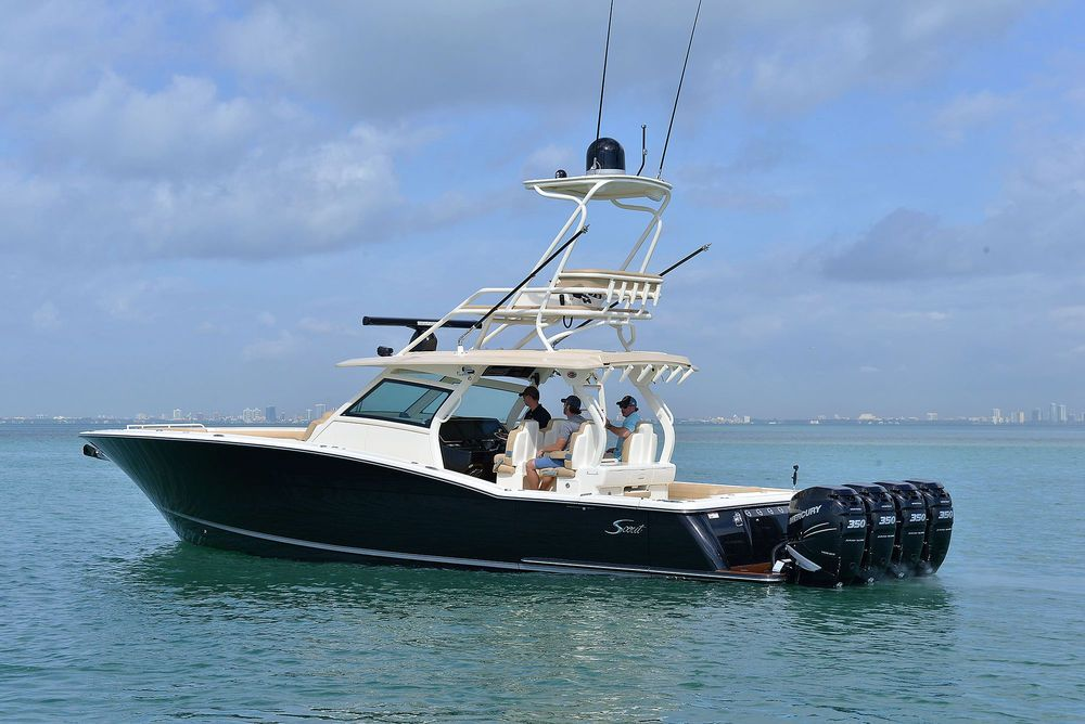Scout 420 LXF Offshore fishing boats, Fishing boats for