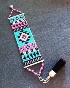 Modele Bracelet Manchette En Perle Metier A Tisser Recherche