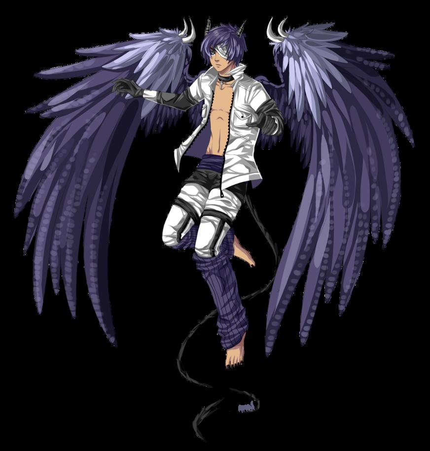 Male Angel Warrior Anime