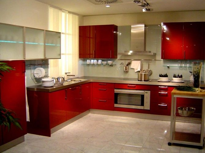 I think future kitchen is going to be red ) Future House - alno küchen trier
