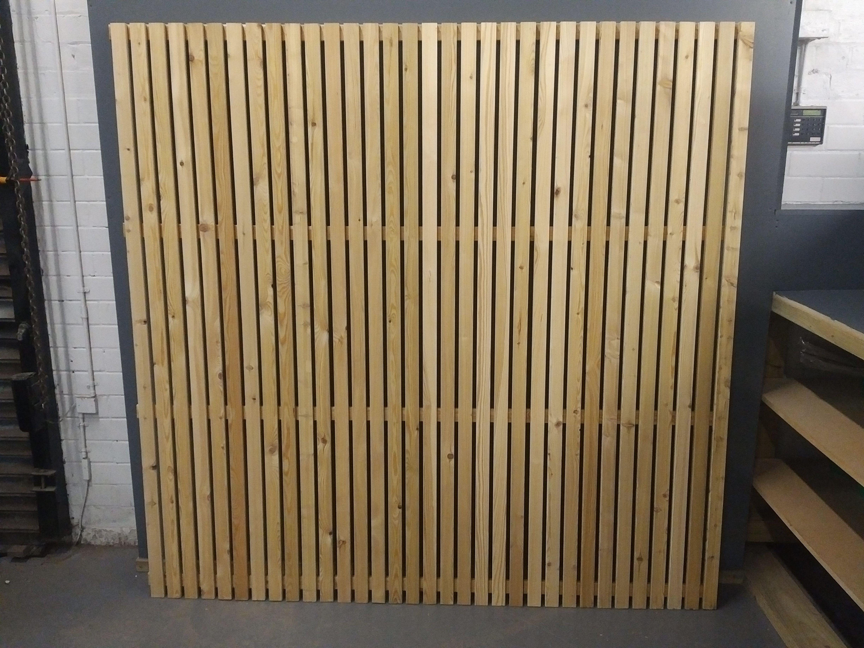 Vertical Slatted Screen Panel Slatted Fence Panels Fence Panels Fence Design