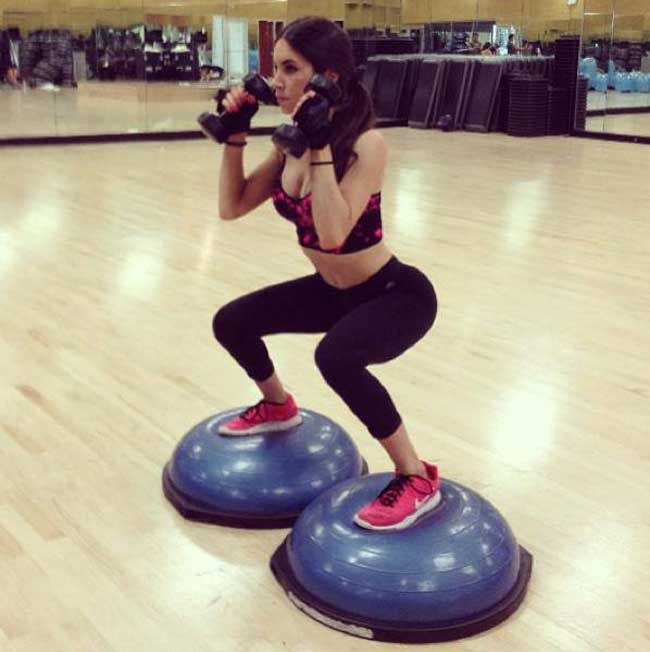 Bosu Ball Total Body Workout: Bosu Ball Squats. Work Out Plan I Want To Try