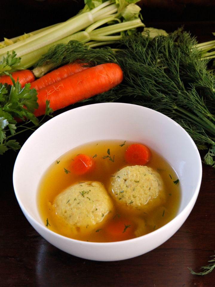 Vegetarian Matzo Ball Soup Recipe By Tori Avey One Secret