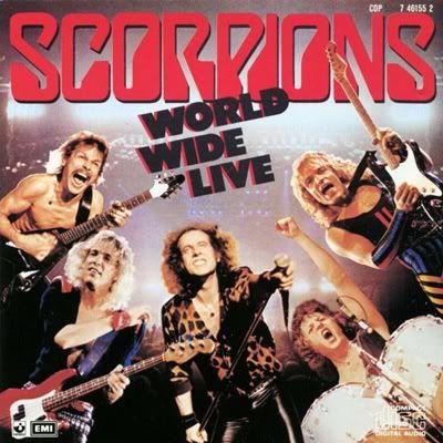 Scorpions Band 80s
