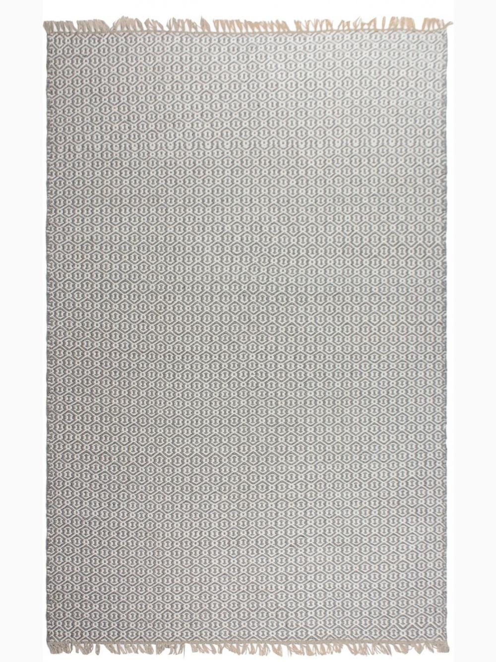 Lancut Grey Indoor Outdoor Pet Polyester Fiber Rug Gray Rug