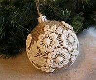 Image result for Rustic Christmas Ornaments to Make