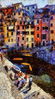 CINQUE TERRE BY DENIS. Dynamic Auto Painter is a sophisticated set of digital brushes and controls allowing creation of paintings based on reference photos. With skill these digital paintings and those of traditional media are indistinguishable. Scroll through Pinterest pins of high quality Dynamic Auto Painter artwork and see if you are not impressed with digital paintings. SEE MORE DIGITAL PAINTING AS ART NOW.... https://richard-neuman-artist.com/works