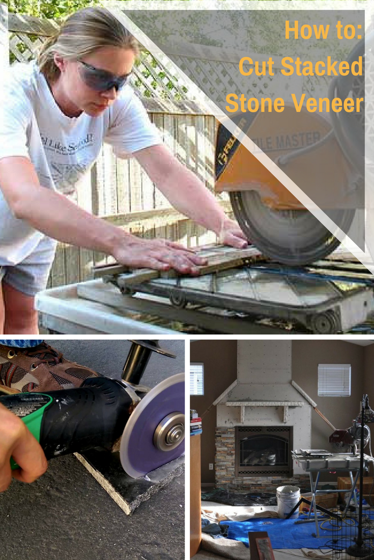 Installing Stacked Stone Veneer Is A Challenging But Achievable Project For Most Diy Ers One Of The First Questions We Get Stone Veneer Stacked Stone Veneers