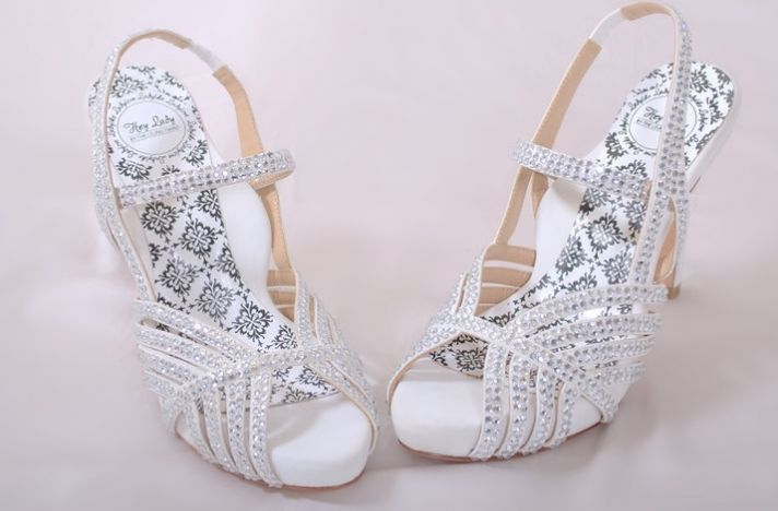 Hey Lady Wedding Shoes Vintage Inspired Bridal Heels White