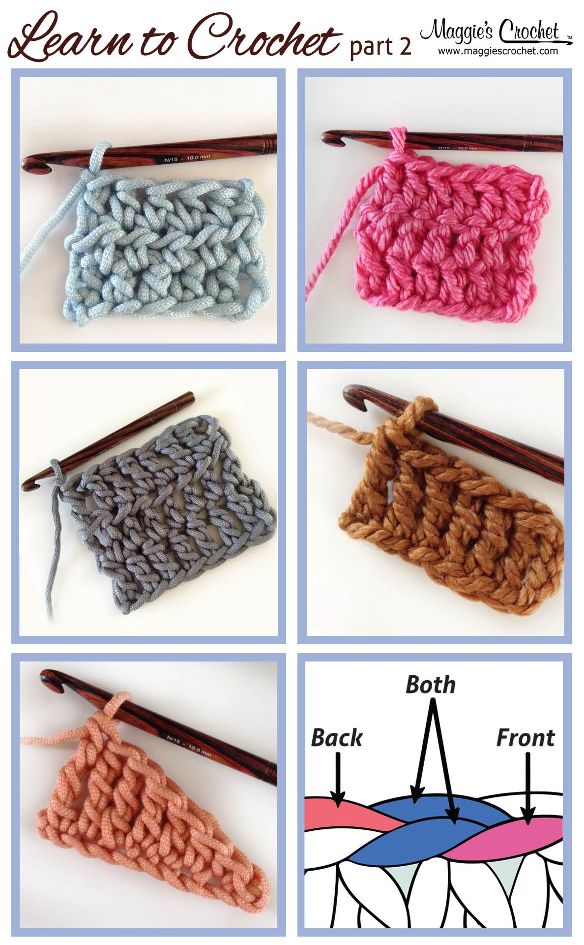 Learn to crochet part 2 crochet next steps tutorial y video right learn to crochet part 2 crochet next steps tutorial y video right and left hands bankloansurffo Image collections