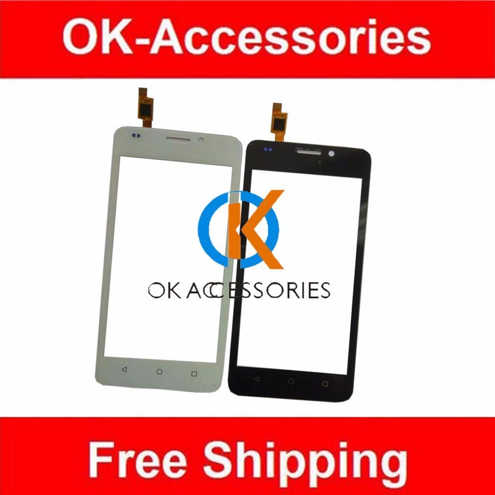 Zwart-wit kleur 100% garantie voor huawei ascend y635 touchscreen digitizer 1 stk/partij