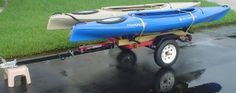Kayak and Canoe Trailer Projects - Harbor Freight Utility Trailers