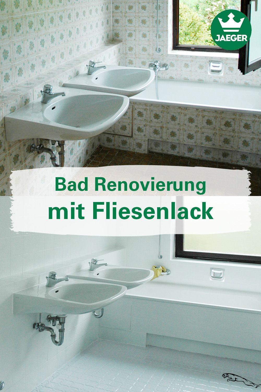 Bad Renovierung Mit Fliesenlack Badezimmerrenovieren Interior